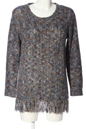 Cecil Warkoczowy sweter Warkoczowy wzór W stylu casual