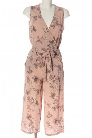 Cecilia Classics Jumpsuit pink-hellgrau Allover-Druck Casual-Look