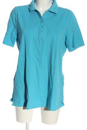 Cecilia Classics Polo Shirt blue athletic style