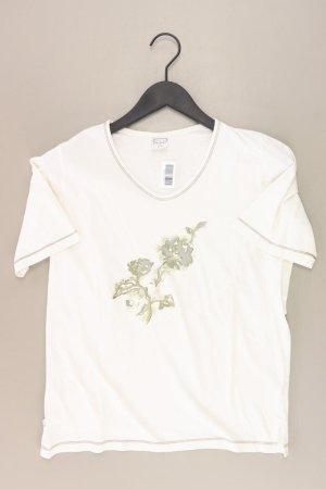CECILIA CLASSICS Shirt Größe 36/38 creme aus Baumwolle