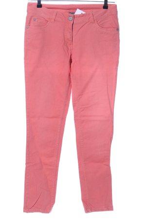 Cecilia Classics Slim Jeans pink casual look