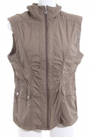 Cecilia Classics Sports Vests brown casual look