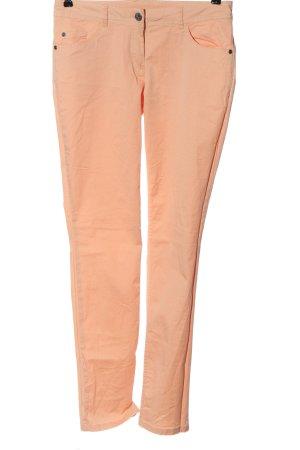 Cecilia Classics Jersey Pants light orange casual look
