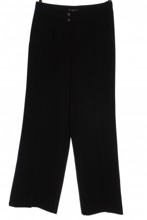 Cecilia Classics Jersey Pants black striped pattern casual look