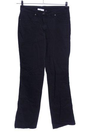 Cecilia Classics Straight-Leg Jeans schwarz Casual-Look