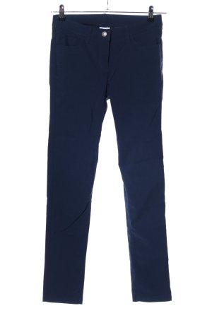 Cecilia Classics Stretchhose blau Casual-Look