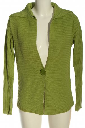 Cecilia Classics Knitted Cardigan green casual look