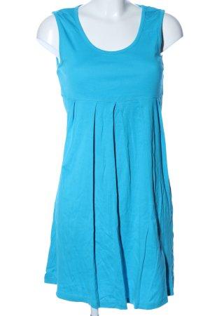 Cecilia Classics Trägerkleid blau Casual-Look
