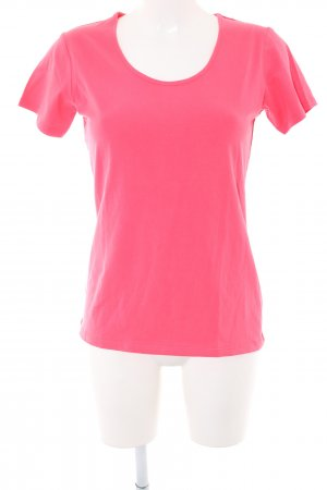 Cecilia Classics Boothalsshirt roze casual uitstraling