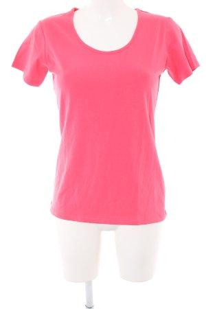 Cecilia Classics Boatneck Shirt pink casual look