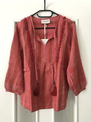Cecilie Copenhagen Bluse Shirt,Bommel,neu,Gr s