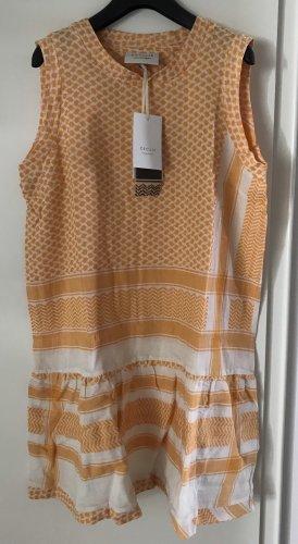 Cecilie Copenhagen Kleid Tunika,Gr M,neu,gelb/weiß