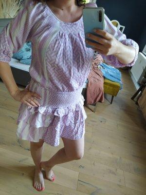 Cecilie Copenhagen Jersey twin set wit-lila