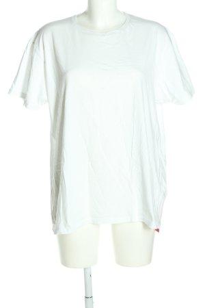 Cedar Wood State T-Shirt weiß Casual-Look