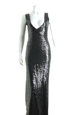 Cedress Pailettenkleid schwarz Elegant