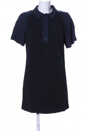 Cédric Charlier Polo Dress black-blue casual look