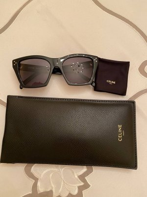 Celine Angular Shaped Sunglasses black