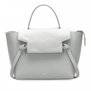 Celine Belt Leather Satchel