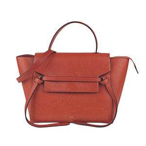 Celine Belt Leather Satchel