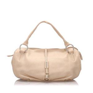 Celine Hobos beige leather