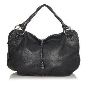 Celine Bittersweet Leather Shoulder Bag