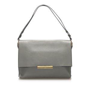 Celine Blade Leather Shoulder Bag