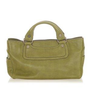 Celine Boogie Leather Handbag