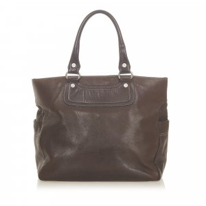Celine Boogie Leather Tote Bag