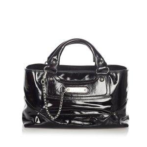 Celine Boogie Patent Leather Handbag