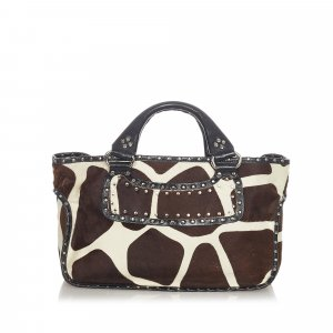 Celine Boogie Pony Hair Handbag