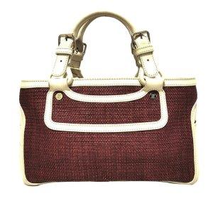Celine Boogie Raffia Handbag
