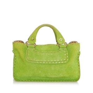 Celine Boogie Suede Handbag