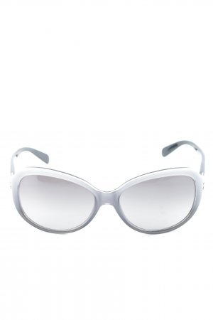 Celine Butterfly Glasses white-light grey simple style