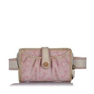Celine C Macadam Canvas Belt Bag