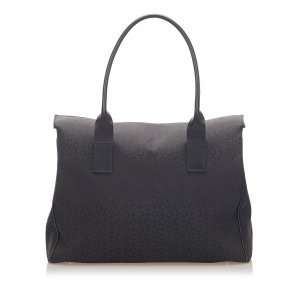 Celine C Macadam Canvas Tote Bag