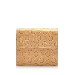 Celine C Macadam Leather Small Wallet