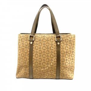 Celine Handbag light brown suede