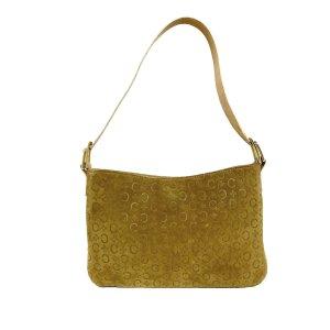 Celine Shoulder Bag brown suede