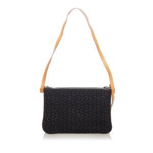 Celine Shoulder Bag black suede