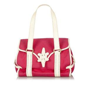 Celine Canvas Handbag