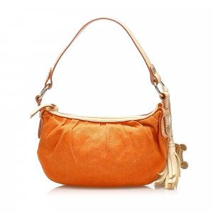 Celine Sac porté épaule orange