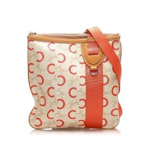 Celine Carriage Canvas Crossbody Bag