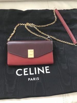 Celine Portemonnee veelkleurig Leer