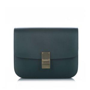 Celine Crossbody bag blue leather