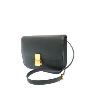 Celine Classic Box Medium Leather Crossbody Bag