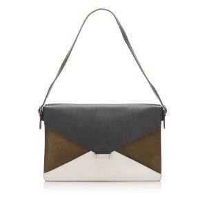 Celine Diamond Leather Shoulder Bag