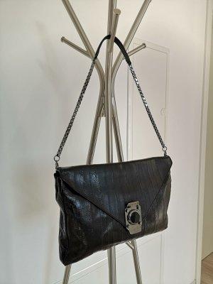 Celine Clutch black-silver-colored