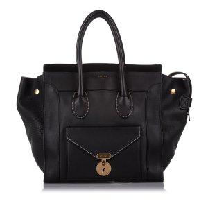 Celine Envelope Luggage Leather Tote Bag
