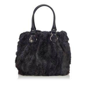 Celine Fur Tote Bag