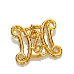 Celine Brooch gold-colored metal